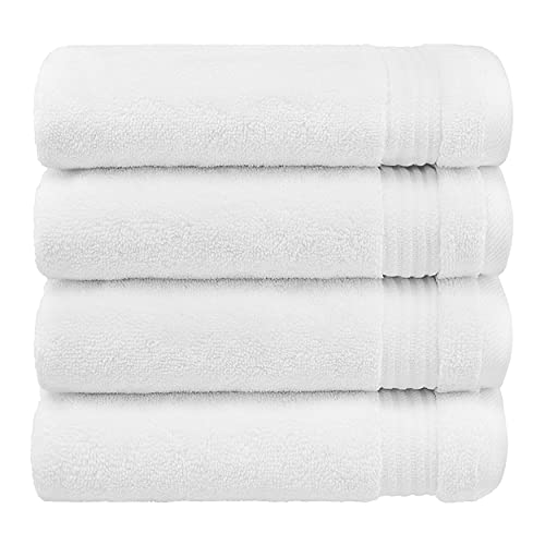 Luxury Genuine Turkish Cotton Washcloths for Easy Care, Extra Soft & Absorbent, Fingertip Towels, 4 Pack Turkish Washcloth Set by...