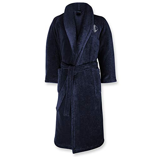Ralph Lauren Bademantel Langdon, Midnight, M