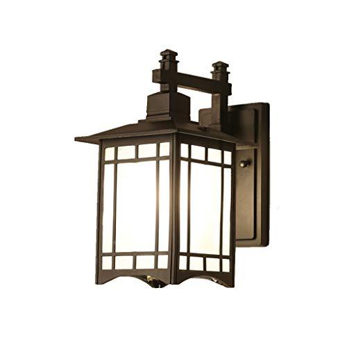 Wandlamp leeslamp New China buitenverlichting eenvoudige sfeer Retro Villa terras balkon waterdicht gang muur terras lichten Lostgaming