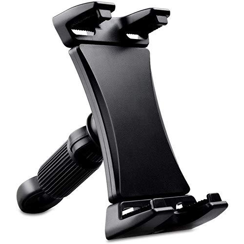 LOPQOI Tablet Monti for Microfono Stand Microfono Tablet Holder microfonica Supporto Tablet Phone Holder Accessori per Il Supporto del Microfono (Color : Black)