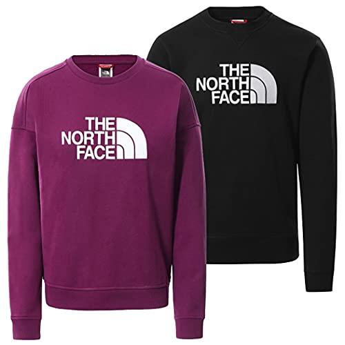 The North Face Felpa da Donna Girocollo Drew Peak Viola Taglia M cod 3S4G-GP5