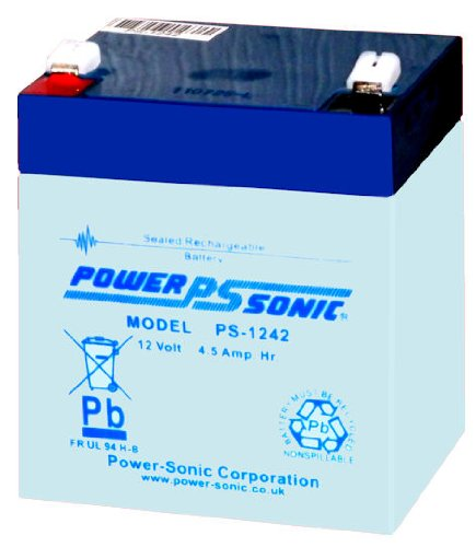 POWERSONIC PS-1242 / 12V 4,5Ah AGM Blei Akku Batterie