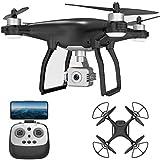 3-Axis Gimbal Drone con fotocamera 4K per adulti Bambini 1 ore Tempo di volo 2000 metri Telecomando...