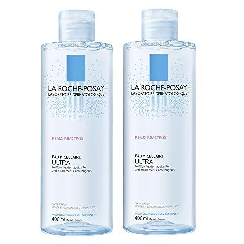 La Roche-Posay Mizellenwasser für besonders empfindliche Haut, 2x 400ml