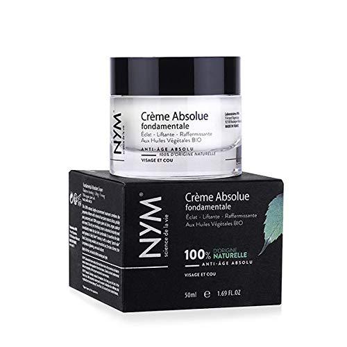 NYM-crème anti-rides-éclat-liftante-raffermissante- visage-neem-Crème absolue fondamentale-100% naturelle-à base d'huiles végétales bio