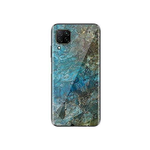 Mármol de moda para Huawei P40 P30 P20 P10 P9 P8 Lite E 5G 2017 2019 Pro Plus TPU silicona teléfono Case Style 04-para Huawei P40 Pro