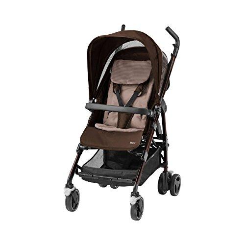 Maxi-Cosi Dana kinderwagen (met babyschaal of kinderwagenopzetstuk al vanaf de geboorte te te gebruiken, compact en rugvriendelijk opvouwbaar, lichtgewicht) Kinderwagen bruin (brown)