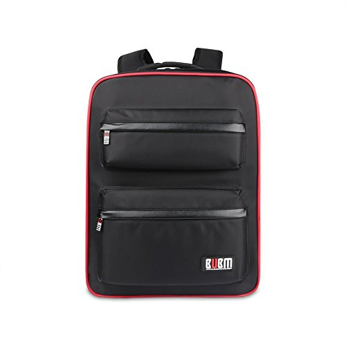 Universal Gaming Backpack,Travel Game System Carrying Case Storage Bag for Sony Playstation 4/PS4 Slim/PS4 Pro/Xbox ONE/XB1S/Xbox ONE X/WII U/PS3/XBOX 360 Systems and Accessories,Black