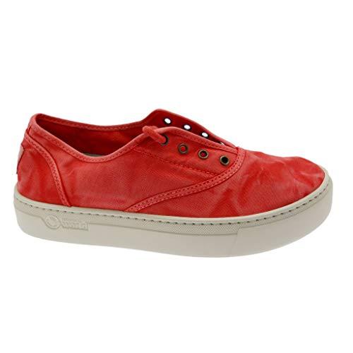 Zapatillas Natural World 6112E Rojas para Mujer 36