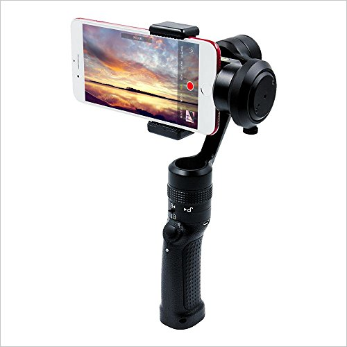 Xsteady 3-Axis Handheld Smartphone Gimbal Stabilizer for Smooth, Steady Digital Photography and Advanced Video Filming (GC2)