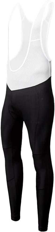 ligeros con forro polar y acolchado 4D color negro estilo primavera y oto/ño Baberos de compresi/ón para hombre