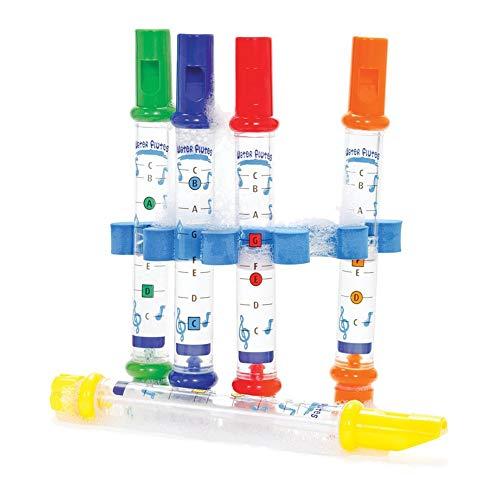 RainbowBeauty Pack de 5, Baño de Agua Flautas (de Juguete Que los niños tengan baño!) Hojas Inc Música Música Educación Temprana de Instrumentos Musicales
