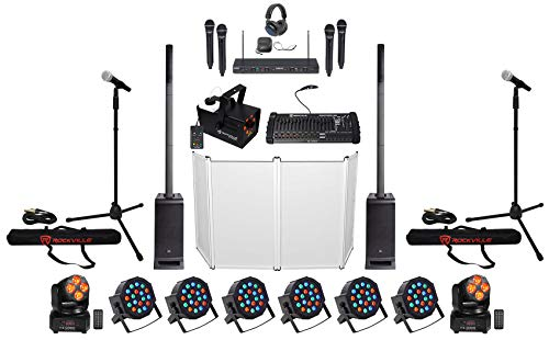 Best Review Of DJ Package w/ (2) JBL EON ONE PRO Array Speakers+Subs+Facade+Fogger+Mics+Lights