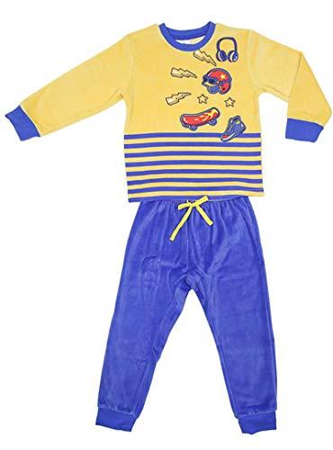 TOBOGAN - Pijama niños Color: Amarillo Talla: 3