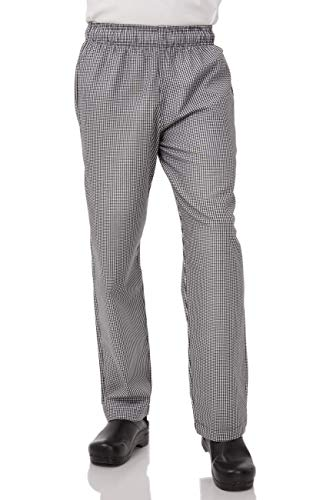 Price comparison product image Chef Works Men's Essential Baggy Chef Pants,  Small Check,  Small