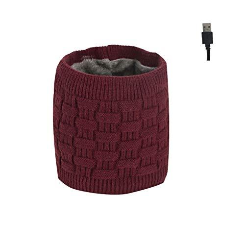 Volking Bufanda con calefacción USB Bufanda con calefacción eléctrica para Hombres y...