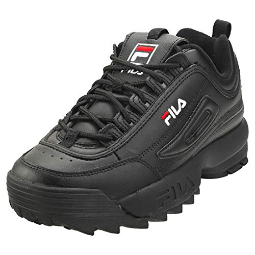 Fila Disruptor II - Zapatillas deportivas para mujer, Negro (blanco, negro (Black / White / White)), 36.5 EU