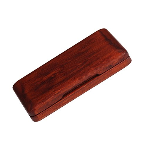 Saxophon Clarinet Reed Case, Holz Reed Fall Wooden Reeds Case Box für Saxophon Klarinette Reed