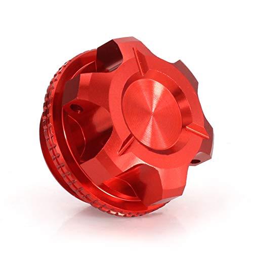 Cubiertas de tapón de llenado de Aceite del Motor Enchufe para Yamaha YZF R6 R1 YZF-R3 YZF-R25 R125 YZF600R MT-01 FZ1 FZ6 FZ8 FAZER FZR400 FJR1300 V-MAX (Color : All Red)