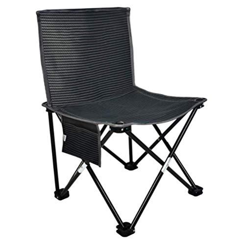 YWT lichtgewicht opvouwbare hoge rug campingstoel, eenvoudige visstoel, draagbare compacte outdoor camping, reizen, picknick, vakantie, wandelen, ondersteuning 180 pond