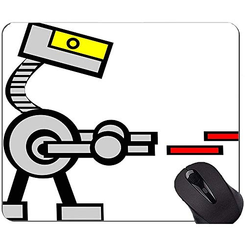 Muismat met vergrendelrand, Gun Gale Online Drone anti-slip rubberen voet muismat