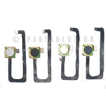 ePartSolution_ZTE ZMAX Pro Z981 Fingerprint Sensor Flex Cable Finger Print Flex Cable Replacement Part USA  Blue