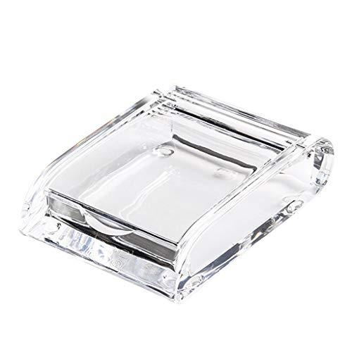 planuuik Mode Acryl Transparant Sigarettenetui Metalen Accessoires Dikke Draagbare Aansteker Pakket Stofdichte Opbergdoos