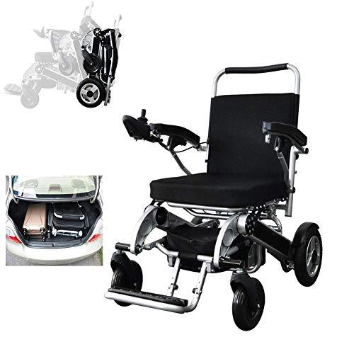 CHHD Elektrorollstuhl, Faltbarer ultraleichter und praktischer automatischer Scooter für ältere Menschen, kann 160 kg tragen