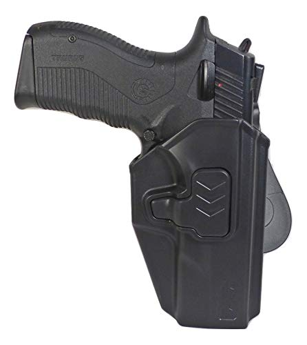 Tactical Scorpion Gear Modular Level II Retention Paddle Holster: Fits Taurus PT809 PT840 PT845 24/7 pro 24/7 G1