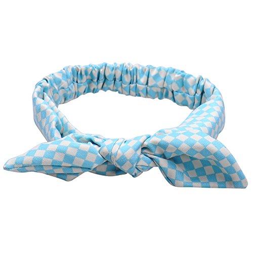 Newborn Infant bébé enfants filles rayé Dot Bandeau bowknot Hairband Headwear