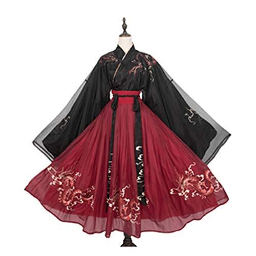 TONGJI Hanfu Kleid Chinesisch Traditionell Hanfu Elegante Hanfu Frauen Anzug Für Fotografie Performances Cosplay Kostüm