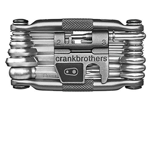 Crankbrothers Multifunktionswerkzeug 19 Multitool, CBM19, Farbe grau