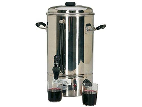 Distributeur de boissons en acier inoxydable, 10 litres, professionnel 1500 W ; WB -10 GGG