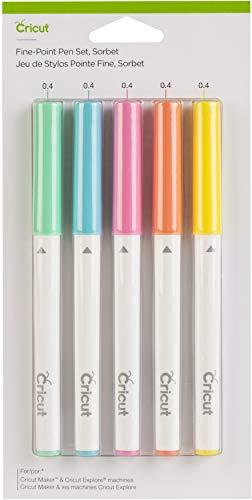 cricut marker sets Cricut Fine Point Pen Set, Sorbet