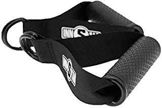 INNSTAR Upgraded Gym Cable Handles Resistance Band Handles Only Fitness Grip with Solid ABS Cores, Durable Heavy Double D-...