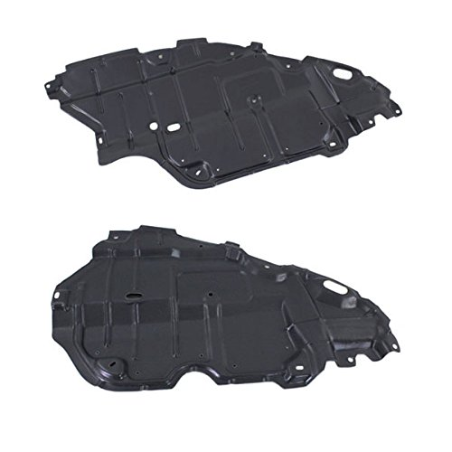 Koolzap For 07-11 Camry & Hybrid Front Engine Splash Shield Under Cover Left Right PAIR