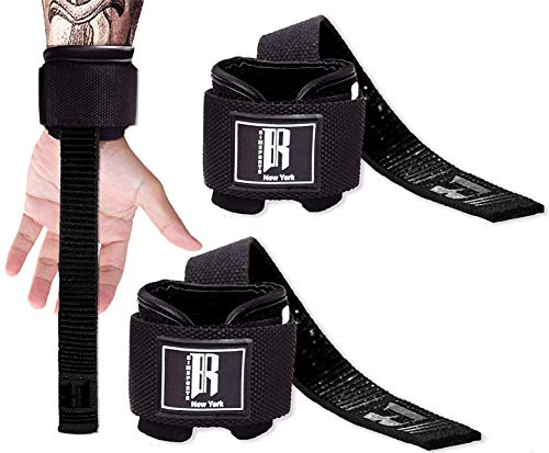 RIMSports Weight Lifting Straps with Wrist Support Straps for Weightlifting