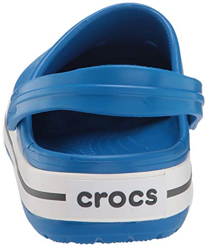 Crocs Crocband Clog, Bright Cobalt/Charcoal, 13 US Women / 11 US Men Massachusetts