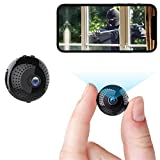Mini Hidden Camera WiFi Wireless Spy Nanny Cam 1080P Home Security Small Surveillance Video Recorder with Phone APP Real Time Remote View Night Vision Motion Detection