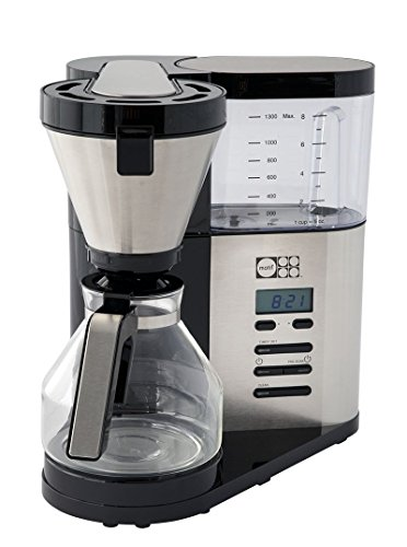 Motif Elements Pour-Over Style Coffee Brewer with Glass Carafe