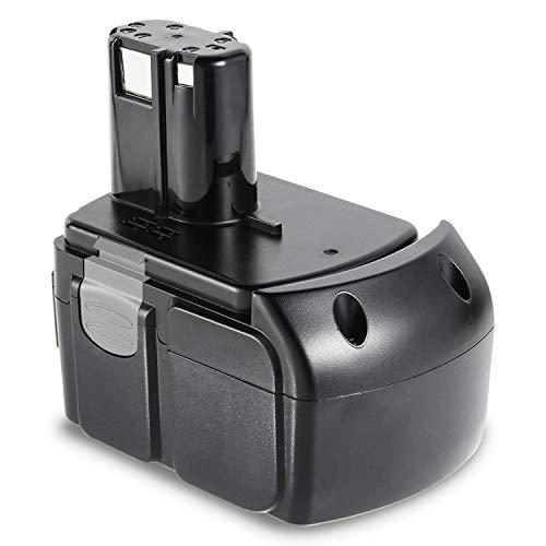 ARyee 18V 5000mAh BCL1840 Batería Compatible con Hitachi C6DC C6DD BCL1815 BCL1820 BCL1825 BCL1830 BCL1840 EBM1830 EBM1830 327730 326240