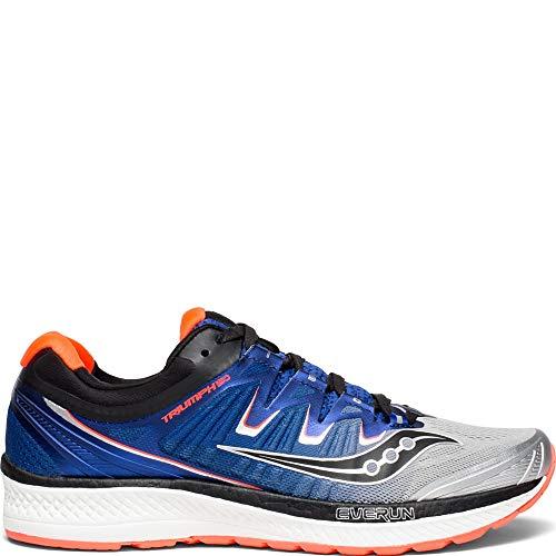 Saucony Triumph ISO 4, Zapatillas de Running para Hombre, Plateado (Silver/Blue/Vizired 35), 44.5 EU