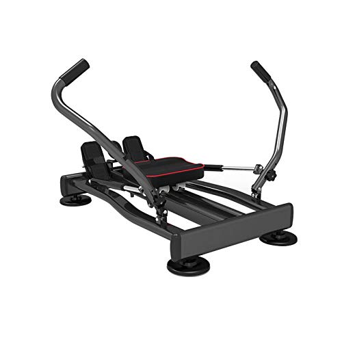 Idraulica Vogatore, Full Motion Rower con Regolabile Resistance & LCD Monitor per Cardio Exercise, Home/Office/Appartamento