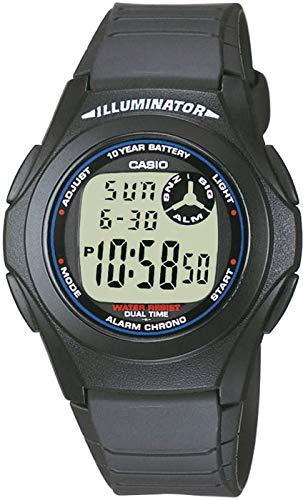 Casio F-200W-1AEG Relojes Multifunción Relojes de Cuarzo Cronógrafos Relojes Digitales