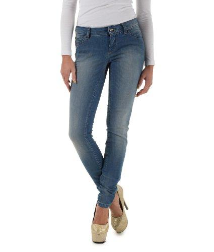 Jeans Skinny Low coral REA 1900 Denim Only W25 L34 Damen