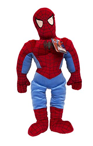 "Jay Franco Marvel Ultimate 26"" Pillowtime Pal, Blue, Avengers - Spiderman"