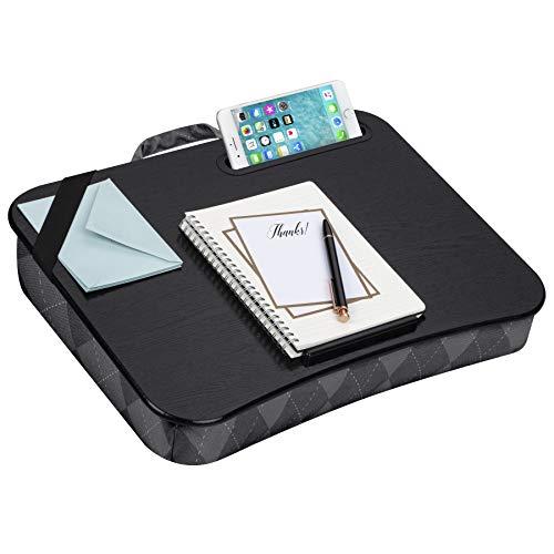 LapGear Designer Lap Desk - Gray Argyle (Fits up to 15