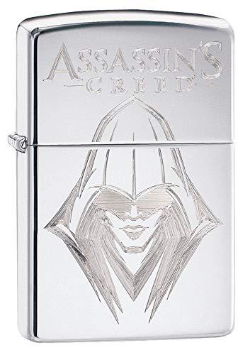 Zippo Assassin's Creed Ezio Briquet Coupe-Vent Chromé