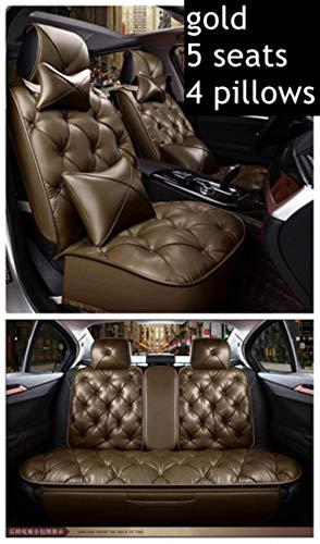 XIARI Coprisedili per Auto Universali per BMW Serie 1 E81 E82 E87 E88 F20 F21 F52 F40 Serie 2 F22 F23 F44 F45 F46 Seggiolini Auto-5 Posti di Lusso