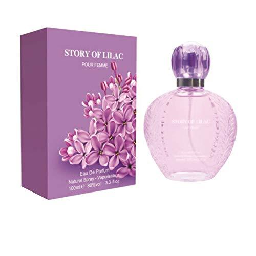 Story Of Lilac Damen Geschenkset Eau de Parfum 100ml , Weihnachtsgeschenk, Geschenk für Sie
